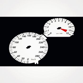 BMW K1200 R KM/H White - 1