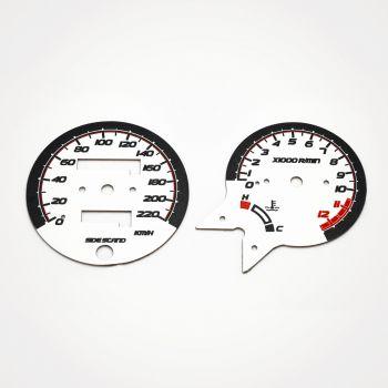 Honda CB 500 KM/H White - 1