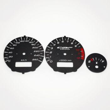 Honda CBF 1000 2006-2010 KM/H Black - 1