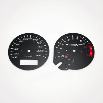 Honda CBF 500 KM/H Black - 1