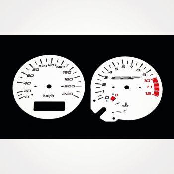 Honda CBF 500 KM/H White - 1