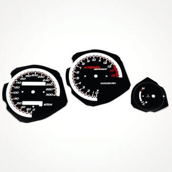 Honda CBR 600 F3 1995-1998 KM/H Black - 1