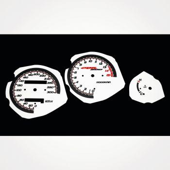 Honda CBR 600 F3 1995-1998 KM/H White - 1