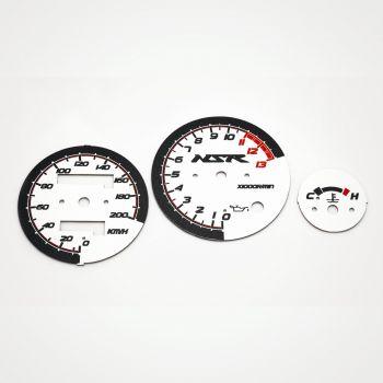 Honda NSR 125 KM/H White - 1
