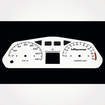 Honda XL 125 Varadero 2001-2006 KM/H White - 1