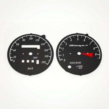 Honda XL 600V Transalp KM/H Black - 1