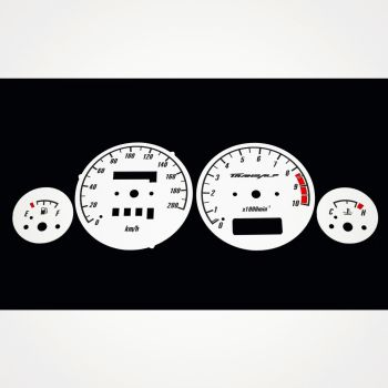 Honda XL 650V Transalp KM/H White - 1