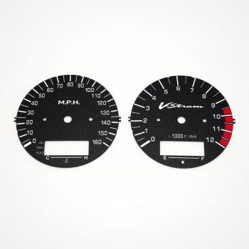Suzuki DL 1000 V-Strom 2002-2003 MPH Black - 1