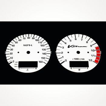 Suzuki DL 1000 V-Strom 2002-2003 MPH White - 1