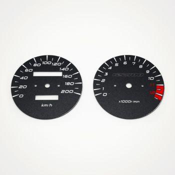 Suzuki GS 500 2005-2008 KM/H Black - 1