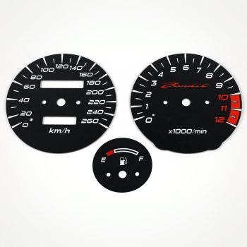 Suzuki GSF 1200 S Bandit 1996-2000 KM/H Black - 1