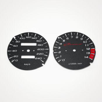 Suzuki GSF 600 Bandit 1995-1999 KM/H Black - 1