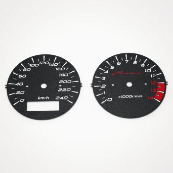 Suzuki GSF 600 Bandit 2000-2001 KM/H Black - 1
