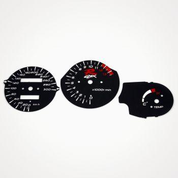 Suzuki GSX-R 1100 1993-98 KM/H Black - 1