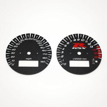 Suzuki GSX-R 600 1997-2000 MPH Black - 1