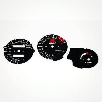 Suzuki GSX-R 750 1992-1995 KM/H Black - 1