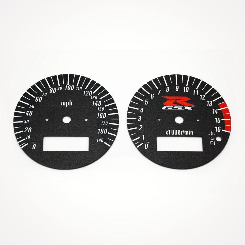 Suzuki GSX-R 750 1996-1999 MPH Black - 1