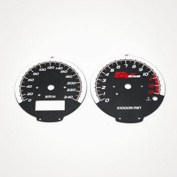 Suzuki SV 650 S 1999-2002 KM/H Black - 1