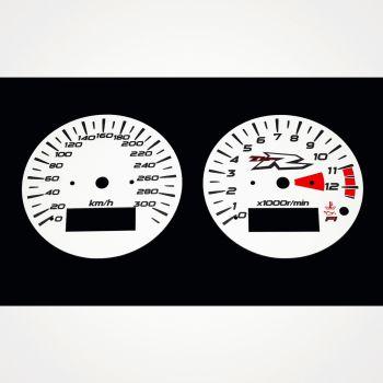 Suzuki TL 1000R KM/H White - 1