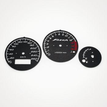 Yamaha FZS 600 Fazer 1998-2001 KM/H Black - 1