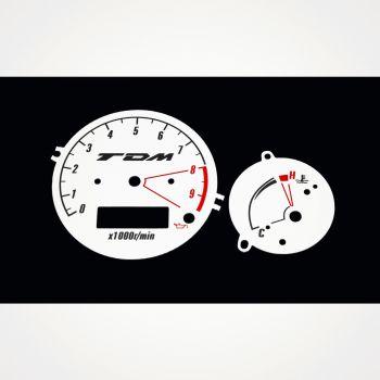 Yamaha TDM 900 KM/H White - 1