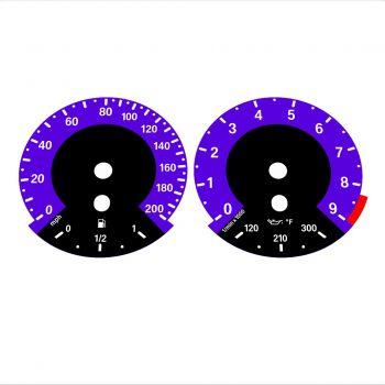 BMW E90 E92 M3 Purple - 1M style - 1