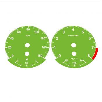 BMW E90 E92 335i 160 MPH Green - Standard - 1