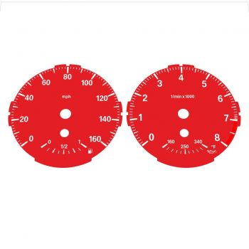 BMW E82 E87 135i 160 MPH Red - Standard - 1