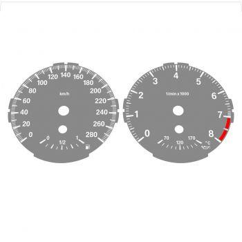 BMW E82 E87 135i 280 KM/H Gray - Standard - 1