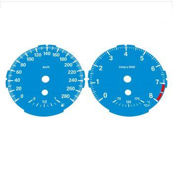 BMW E82 E87 135i 280 KM/H Blue - Standard - 1