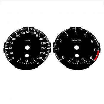 BMW E82 E87 135i 280 KM/H Black - Standard - 1