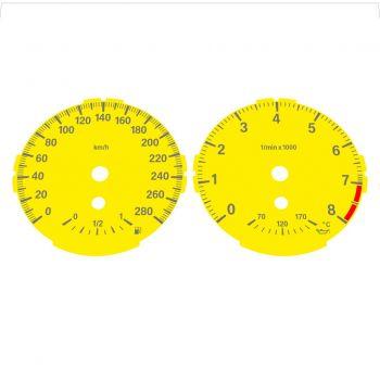 BMW E82 E87 135i 280 KM/H Yellow - Standard - 1