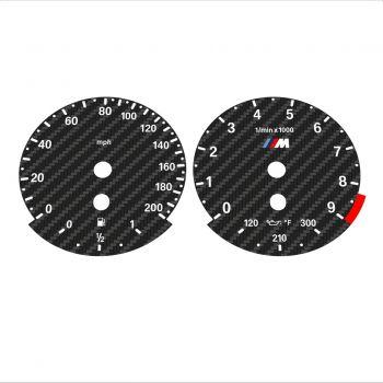 BMW E60 M5 E63 M6 Carbon Texture - 1