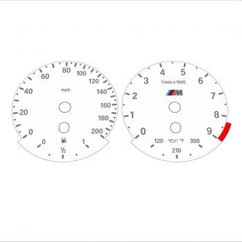 BMW E60 M5 E63 M6 White - Standard - 1
