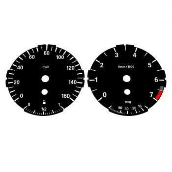 BMW E90 E92 320i 325i 328i 330i LOW Black - 1