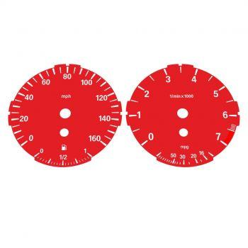 BMW E90 E92 320i 325i 328i 330i LOW Red - 1