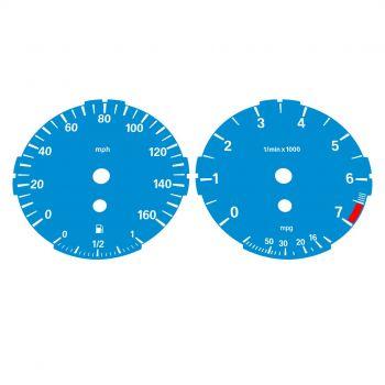 BMW E90 E92 320i 325i 328i 330i LOW Blue - 1