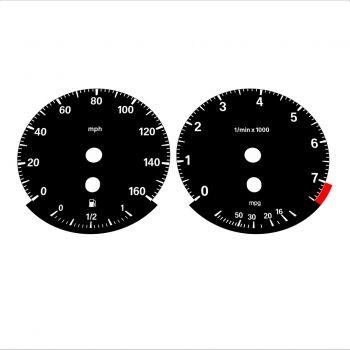 BMW E90 320i 325i 328i 330i MPH HIGH Black - 1