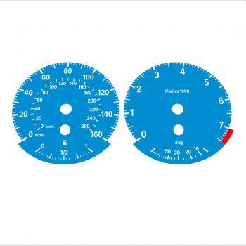 BMW E90 320i 325i 328i 330i MPH HIGH Blue - 1