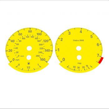 BMW E90 320i 325i 328i 330i MPH HIGH Yellow - 1