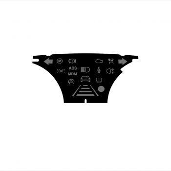 BMW E90 E92 M3 Euro warning light panel - 1