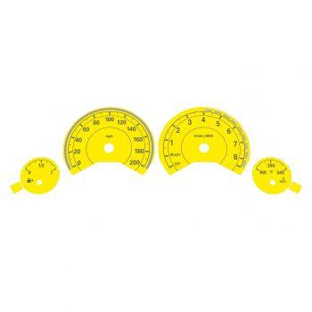 BMW F80 M3 F82 M4 MPH Yellow
