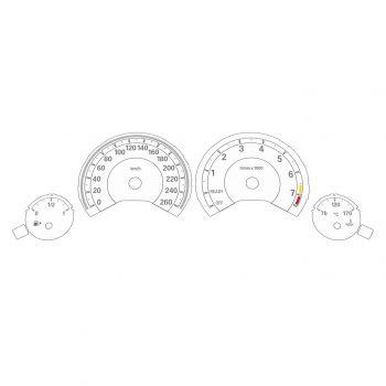 BMW F30 F32 Petrol KM/H High Spec White - 1