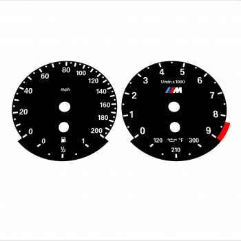 BMW E60 M5 E63 M6 Black - Standard - 41