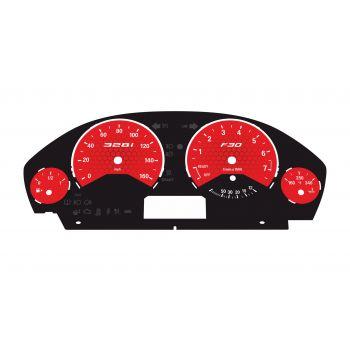 BMW F30 F32 Petrol MPH LOW Spec Red Honeycomb - 1