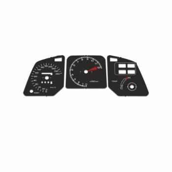 Honda VFR 750 1986-1988 RC24 KM/H Black - 1