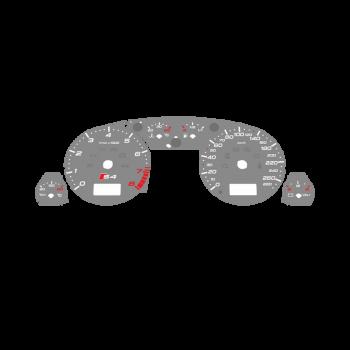 Audi S4 B5 KMH Gray - 1